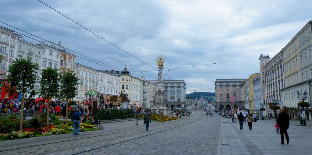 Cykeltur langs Donau fra Linz til Wien