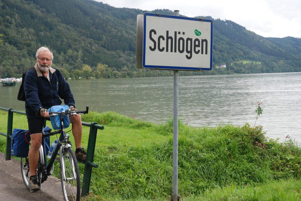 Ved Schlögener Schlinge slår Donau floden et knæk på 180 grader
