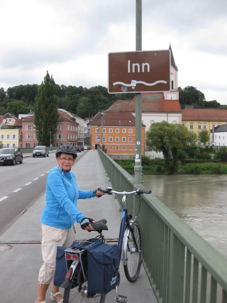 I Passau løber floden Inn sammen med Donau