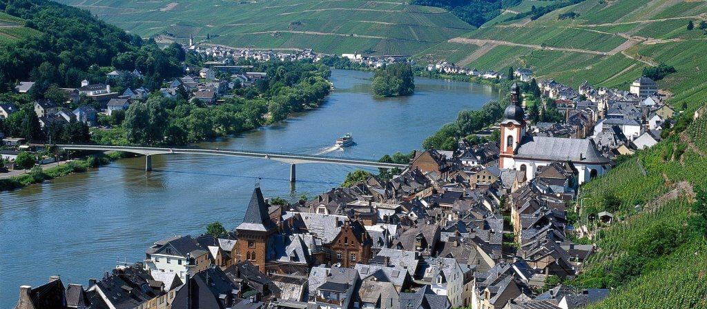 Cykelferie Langs Mosel I Tyskland Fra Trier Til Koblenz Merlot