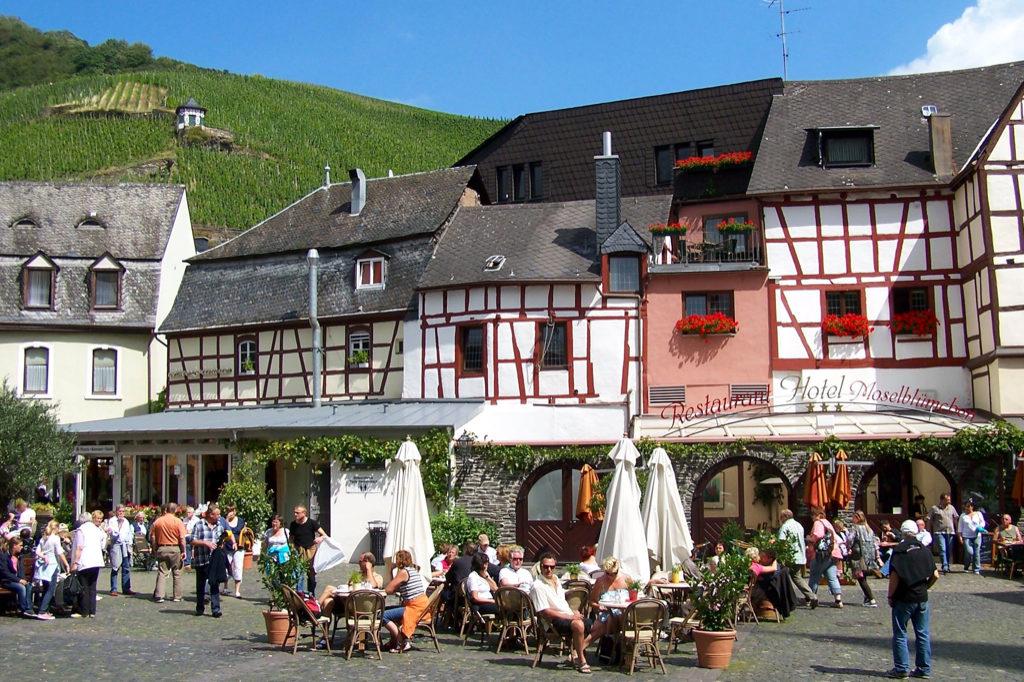 Frokost i Bernkastel-Kues