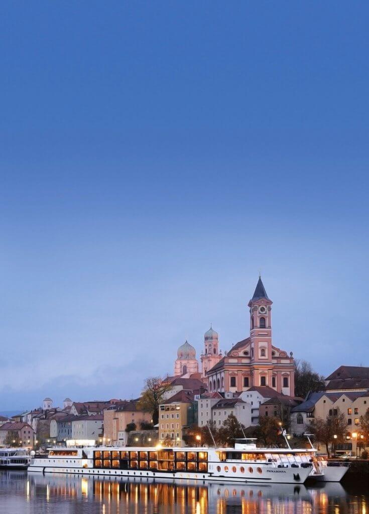 Aftenstemning ved Passau
