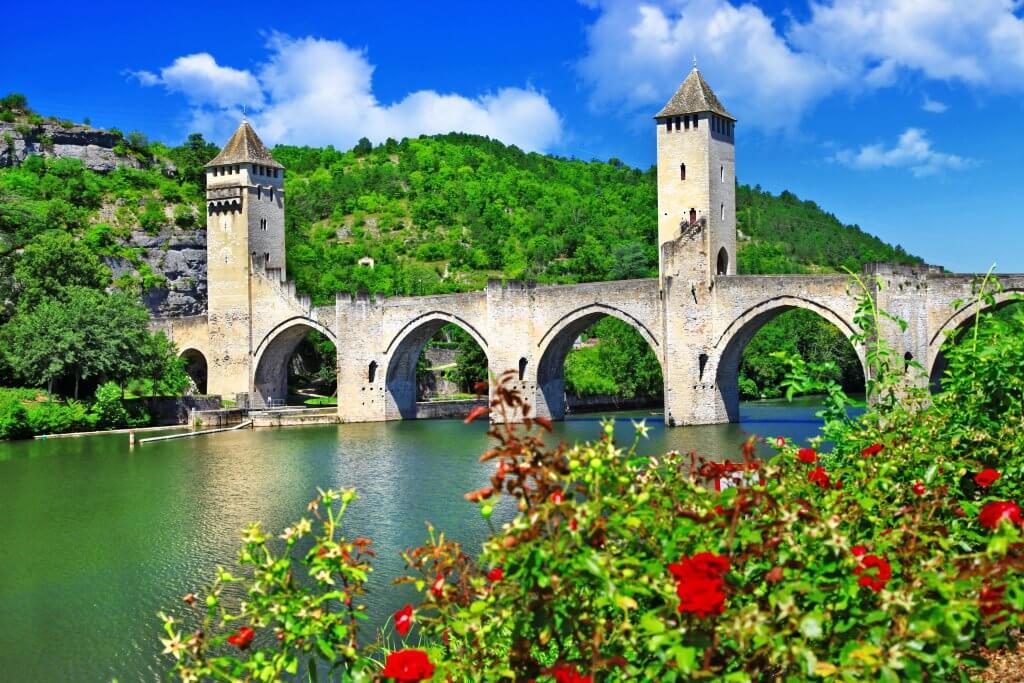 Valentre broen i Cahors