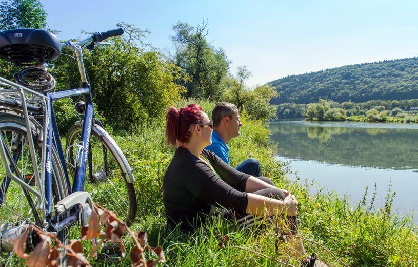Cykelferie langs med Altmühl floden