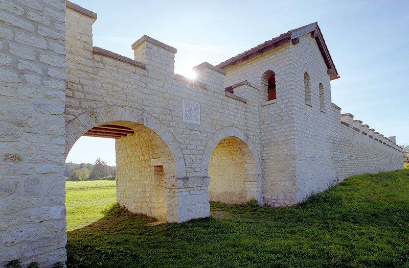 Römer-Kastell Vetoniana ved Pfünz