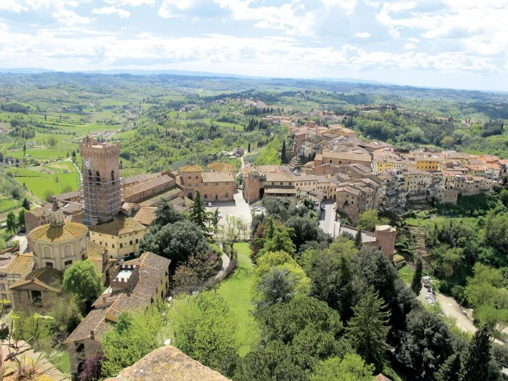 Vue ud over San Miniato