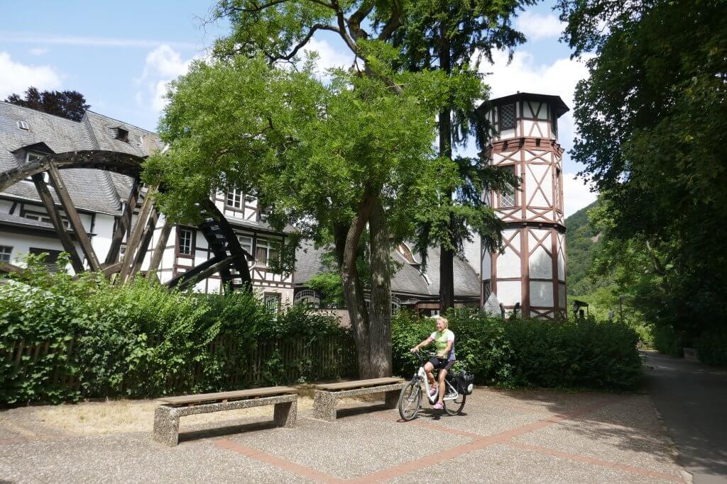 Cykelrute ved Bingen - Nahe Radweg