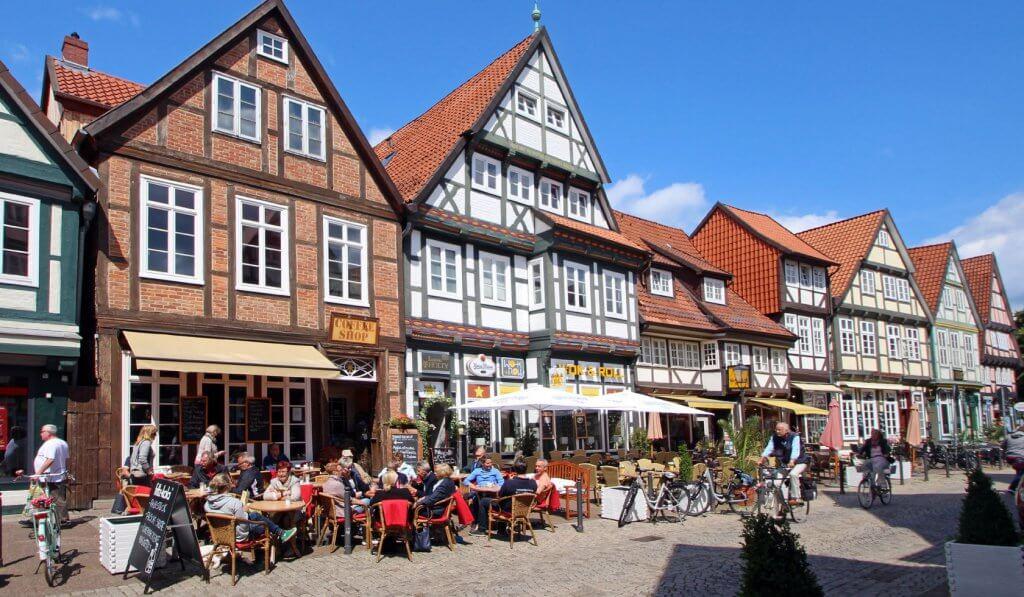 Bindingsværk i Celle