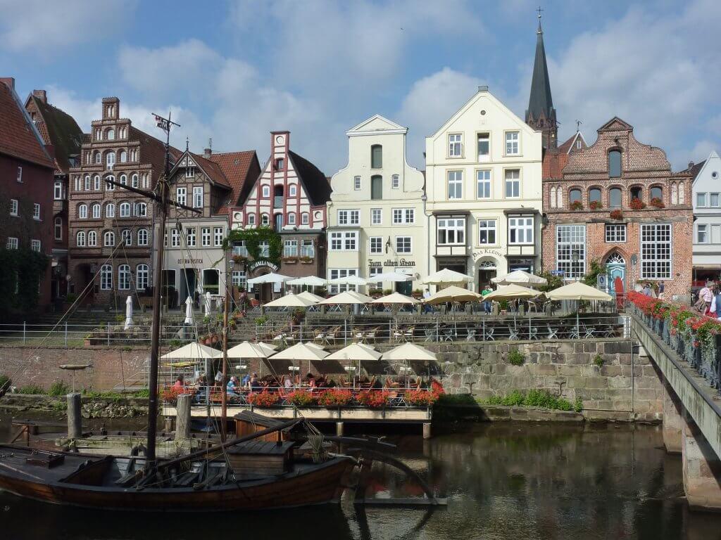 Cykelferie på Lüneburger Heide. Rundtur fra Lüneburg, som ses her på billedet.